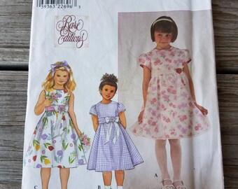 Simplicity Girls' Dress Pattern 8610 size 5-8