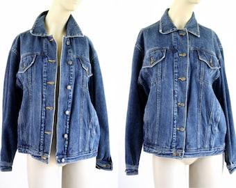 Vintage Medium Wash SB II Loose Fit Unisex Denim Jean Jacket