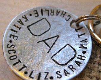 For Dad Keychain