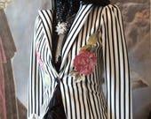 Boho jacket gypsy boho bohemian festival romantic vintage roses clothing spring 2017 vintage roses Ss17 size 34 chest