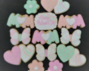 Mother's Day Cookies - 12 Cookies