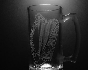 25 ounce Irish Harp Mug
