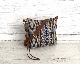 Small Tribal Southwestern Cross Body Purse, Messenger Bag, Festival Bag