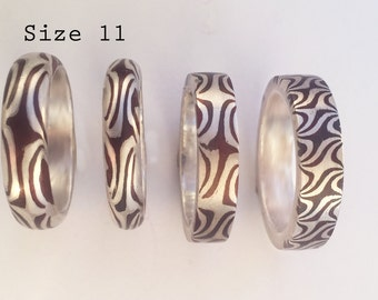 Mokume Ring size 11