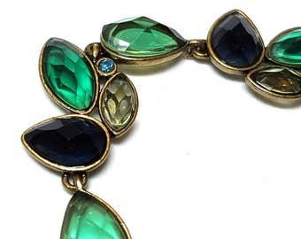 Vintage Multi Color Multi Shape Lucite Stones