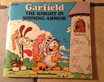 1982 Garfield: The Knight in shining Armor Book by Jim Davis