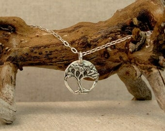 Sculpted Tree Necklace