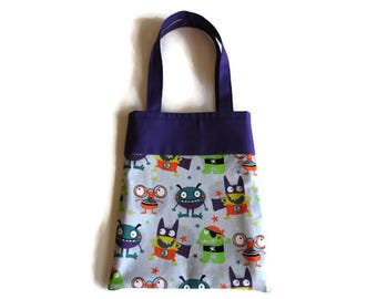 Monster Goodie Bag - Gift Bag - Mini Tote