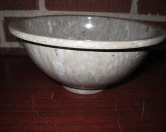 "Vintage Texas Ware Beige Confetti 8"" Melamine Mixing Bowl"