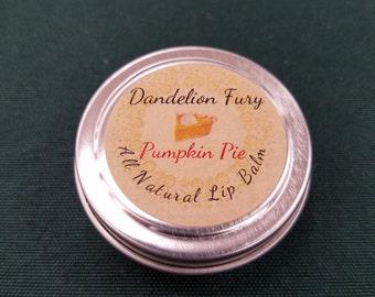 50% off!!  All Natural Pumpkin Pie Lip Balm Tin