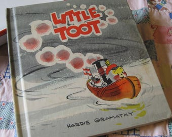 Perfect Vintage Book Little Toot Weekly Edition by Hardie Gramatky