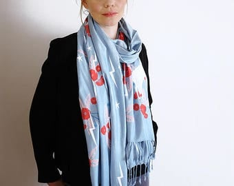 Limited Edition Totally Magic Hand Printed Scarf