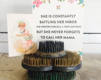 Vintage Metal Flower Frogs an Instant Display Collection