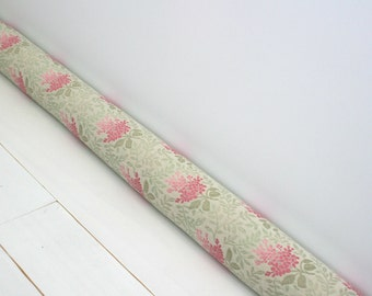Draft Stopper -  Door Snake - Cottage Chic Decor - Unique Gift - Modern Home Decor - Pink Floral. 10