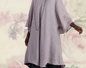 Yollie Tunic Sewing Pattern  TG-A7089 by Tina Givens Lagenlook Style- Layering! Sizes XS- 2X- Phenomenal!