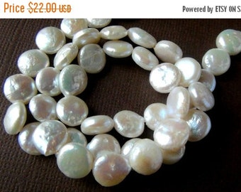 New Year SALE Coin freshwater pearl