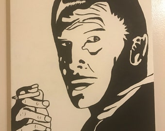 Vincent Price painting