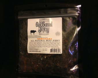 All Natural Gluten Free Teriyaki Beef Jerky