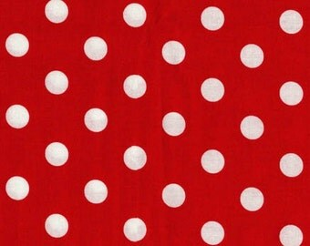 MINNIE MOUSE Polka Dot by Micheal Miller - CX2489 - Red and White