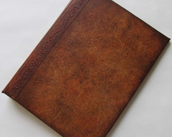 Handmade Refillable Journal Distressed Brown 8x6 Original travellers notebook
