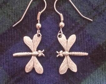 ER-39 Dragonfly Earrings