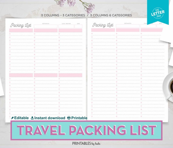 illinois travel packing list