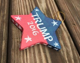 Trump 2016 ornament