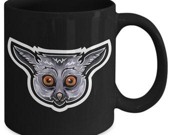 Galago Bush Baby Nagapie Little Night Monkey Coffee Mug