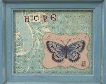 Collage * Mothers Day * butterfly * HOPE * OOAK