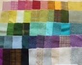 Teinte de vente à la main en laine feutrée des chutes lot numéro 1279 quilting Acres