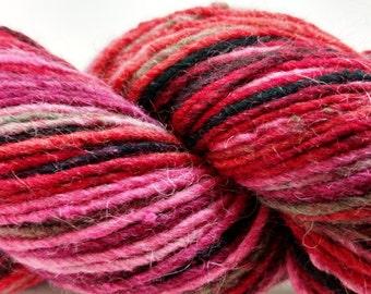 Cascade, Casablanca, Wool, Silk, Mohair, DK, Reds, Color 7