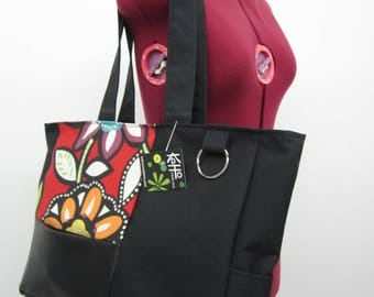 Large tote bag, purse, waterproof bag, shoulder bag, multi-pockets bag