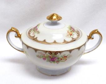 """Royal Embassy China """"Lincoln"""" Pattern Sugar Bowl"""