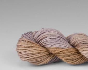 Mini skein, handpainted yarn, Merino and Nylon, Fingering/Sock, Splash, Weathered Wood.