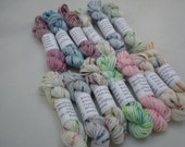 Mini Skeins - Knit Picks Hawthorne Speckle 5 g set of 13 (complete set)