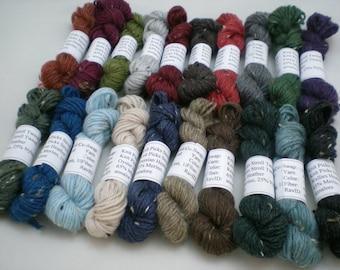Mini Skeins - Knit Picks Stroll Tweed 5 g set of 20 (complete set)