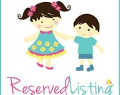 Reserved for Joanna Garcia