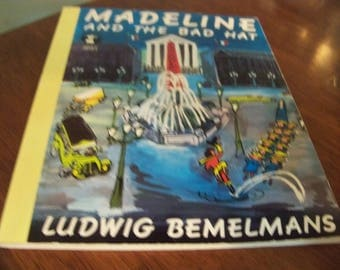 1987 madeline and the bad hat soft cover book