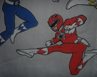 Go Go Power Rangers...Twin Fitted sheet