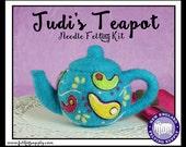 Judi's Teapot Needle Felting Kit