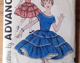 Vintage Advance 9409 child's dress • size 7