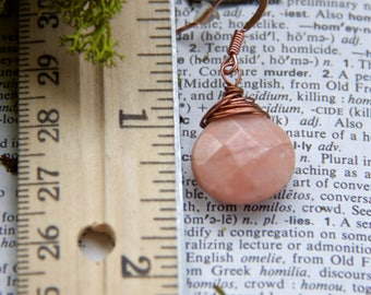 Pretty in Pink - Rose Quartz Wire Wrapped Faceted Briolettes