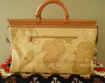 World Map Travel Bag /  Weekender / Market Tote