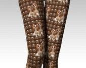 Cavalier Leggings in Brown