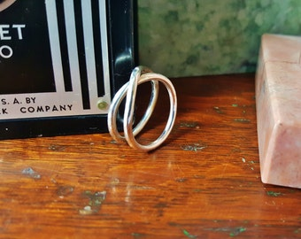 """Sterling Silver """"Infinity"""" Ring"""