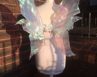 Beautiful Iridescent Realistic Adult Fairy Wings