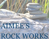 Beach and River Rock Cabinet Knobs Pulls - Custom Order 14