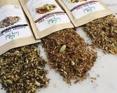 Chai Trio gift set herbal loose leaf tea variety pack