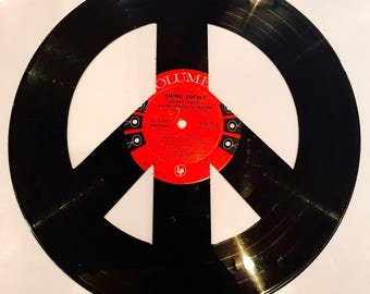 Large Vinyl Peace Sign