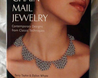 Sale Chain Mail Jewelry Contemporary Designs from Classic Techniques Book